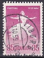 Denmark/1959 - AFA 377 - 35 ø - USED/'VIBORG' - Denmark