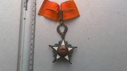 Médaille Commandeur Ordre Ouissam Alaouite - Unclassified