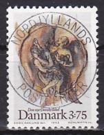 Denmark/1992 - AFA 1034 - 3.75 Kr - USED/'NORDJYLLANDS POSTCENTER' - Used Stamps