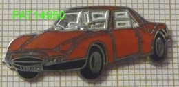 MATRA 530   Carrosserie Orange En Version EGF - Pin
