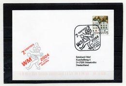 Österreich, 2004, Brief Mit Michel 2415, Echt Gelaufen, Sonderstempel, Eisstock-WM - 1945-.... 2nd Republic