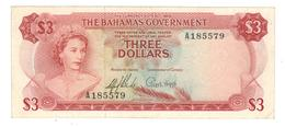 Bahamas, 3 Dollars. L.1965. XF. - Bahamas