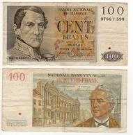 Belgique   Billet 100 FB  Léopold I  1953  Pick 129b  TTB - [ 2] 1831-... : Regno Del Belgio
