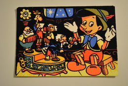 Disney Pinocchio Carte En Feutrine - Disney