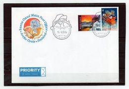 Finnland, 2004, Brief Mit Michel 1626, 1567, Sonderstempel, Polarkreis/Santa Claus - Finnland