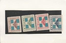 Short 1914 Mint Set N. Epirus Stamps - Europe (Other)