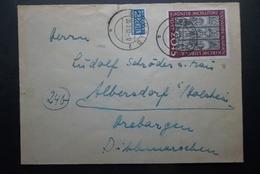 Deutche Bundespost: 1952 Cover To Albersdorf (#GS7) - [7] Federal Republic