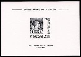 Monaco 1985 Ausstellungsblock MiNr. 9 Postfrisch MNH (B517 - Zonder Classificatie