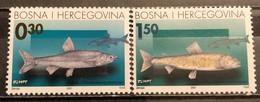 Bosnia And Hercegovina, HP Mostar 2001, Mi: 68-69 (MNH) - Peces