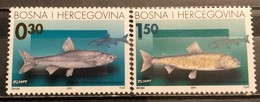 Bosnia And Hercegovina, HP Mostar 2001, Mi: 68-69 (MNH) - Poissons