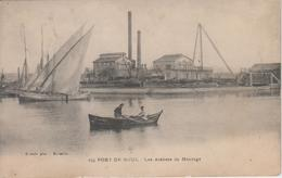 CPA Port-de-Bouc - Les Ateliers De Montage (avec Animation) - Frankrijk