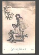Fantaisie / Fantasy / Fantasie - Enfants Avec Traîneau / Children With Sled / Kinderen Met Slee - 1912 - Scènes & Paysages