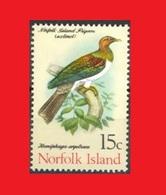 Norfolk 1971, Pigeon Extict MNH ** - Pigeons & Columbiformes