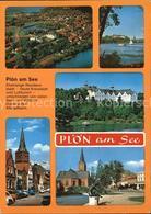 72518763 Ploen See Panorama Schloss Kirche Ploen - Ploen