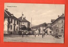 TSO-23 RARE : Farvagny-le-Grand Gibloux TRES ANIME Presque Au Garde-à-vous .Cachets Favargny Et Le Mouret 1917, - FR Fribourg