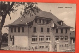 TSO-25 Rossens Gibloux Le Collège, Lentigny  Cachet Rossens 1917  NMaillard Photo Lentigny - FR Fribourg