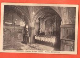 TSO-26 Fribourg Chambre Du Père Canisius  Kasinius Sterbezimmer. Savigny, Circulé 1921 - FR Fribourg