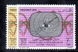 APR2371 - LIBIA 1968 , Serie Integra   (2380A)  Televisione - Libia