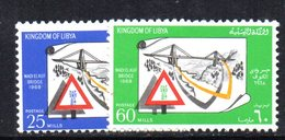 APR2372 - LIBIA 1968 , Serie Integra   (2380A)  Wadi El Kuf - Libia