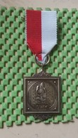 Medaille :Netherlands  -  D.W.K Bergen Op Zoom - Brabant / Vintage Medal - Walking Association - Nederland