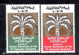 APR2376 - LIBIA 1971 , Serie Yvert 406/407   (2380A)  Rivoluzione - Libia