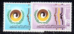 APR2377 - LIBIA 1971 , Serie Yvert 408/409   (2380A)  Razzismo - Libia