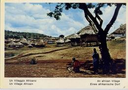 Fauna Africana - Un Villaggio Africano - 166 - 2 - Formato Grande Non Viaggiata – E 13 - Non Classificati