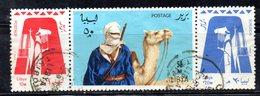 Z1003 - LIBIA 1966 , Serie Yvert 290/292   (2380A)  Meharisti - Libia