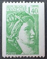 R1516/784 - 1981 - TYPE SABINE - N°2157a NEUF** ☛ N° ROUGE AU VERSO - Frankrijk