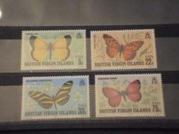 VIRGIN - 1978 FARFALLE 4 VALORI - NUOVI(++) - British Virgin Islands