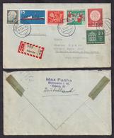 Deustche Bundespost - 1957 - Brief - Verschiedene Briefmarken - [7] República Federal