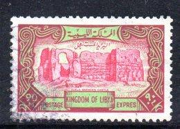 APR2380 - LIBIA 1966 , Serie Yvert N. 15 Usato   (2380A)  ESPRESSO - Libia
