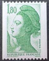 R1516/793 - 1985 - TYPE LIBERTE - N°2378a NEUF** ☛ N° ROUGE AU VERSO - Frankrijk