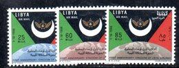 APR2383 - LIBIA 1967 , Serie Yvert N. 32/34 ***  MNH  (2380A)  Posta Aerea - Libia