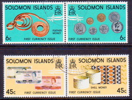 SOLOMON ISLANDS 1977 SG #349-52 Compl.set In Horiz.pairs(slightly Separated) Used Coins And Banknotes - British Solomon Islands (...-1978)