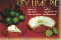 Key Lime Pie  Eating Well In Florida - Recipes (cooking)