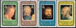 SOLOMON ISLANDS 1978 SG #364-67 Compl.set Used A.Dürer - Solomon Islands (1978-...)