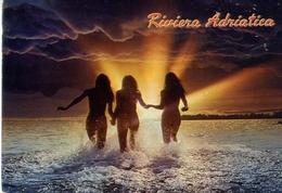 Riviera Adriatica - Donnine - Erotiche - Sex - Formato Grande Viaggiata – E 13 - Non Classificati