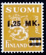 FINLAND 1931 Definitive Lion Surcharged, MI 171 II**MNH - Nuovi