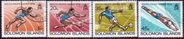 SOLOMON ISLANDS 1979 SG #380-83 Compl.set Used South Pacific Games, Fiji - Solomon Islands (1978-...)