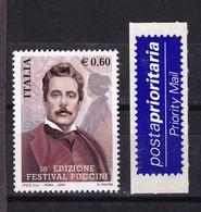 Italy, 2004- 50^ Edizione Del Festival Puccini. MintNH - 6. 1946-.. Republic