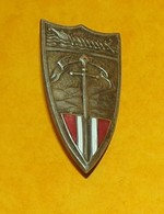 192° Division D'Infanterie Du LEVANT, Dos Lisse Embouti,FABRICANT DRAGO PARIS 25 RUE BERANGER ,DEPOSE,HOMOLOGATION SANS, - Landmacht