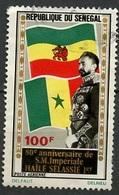 Sénégal Poste Aérienne 1972 Y&T N°PA120 - Michel N°499 (o) - 100f Hailé Sélassié - Senegal (1960-...)