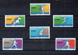 MESSICO   1984, Olympic Games  Mi. 1898/03 - Yv. 1046/51 Serie Cpl. 6v. Nuovi** Perfetti - Messico