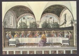 PG197/ Domenico GHIRLANDAIO, *La Cène - Cenacolo*, Florence, Musée Du Cenacolo D'Ognissanti - Paintings