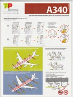 A340 - SAFETY INSTRUCTIONS - TAP - Fichas De Seguridad