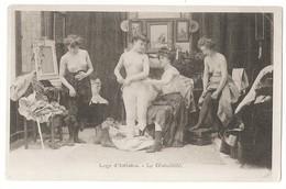 LOGE D'ARTISTES LE DÉSHABILLÉ  Femmes En Collant Poitrine Nue Fantaisie - Spectacle