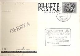 Portugal & Postal Stationery, Grandfather, Watercolor Of Roque Gameiro, CTT Museum, Lisbon 1979 (6680) - Künste