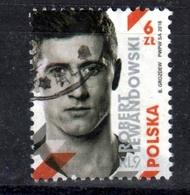 2018 Poland Polen Pologne Fi 4844 Mi 4994 Robert Lewandowski, S. Scan - Used Stamps