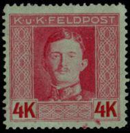 Austria, Fieldpost 1917, 4 Kr 1 Value, MH - Austria